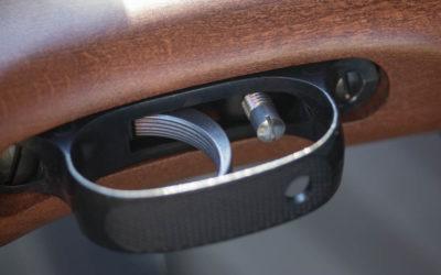 Avtrekket er meget godt og kan justeres ved hjelp av et skrujern.